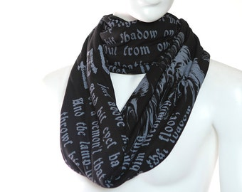 The Raven Book Scarf