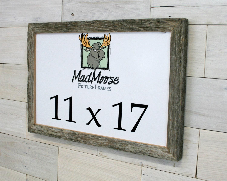 11x17 barnwood chunky x picture frame. Black Bedroom Furniture Sets. Home Design Ideas