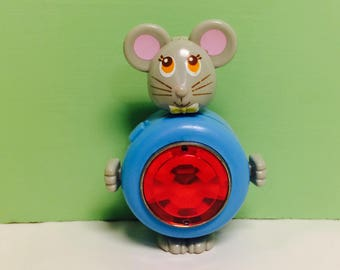 Sweet Secrets Toy, Sweet Secrets Mouse, Mac the Mouse, Sweet Secret Animals, Transforming Jewelry, Red Gem, Galoob Toys, Vintage 1980s Toys