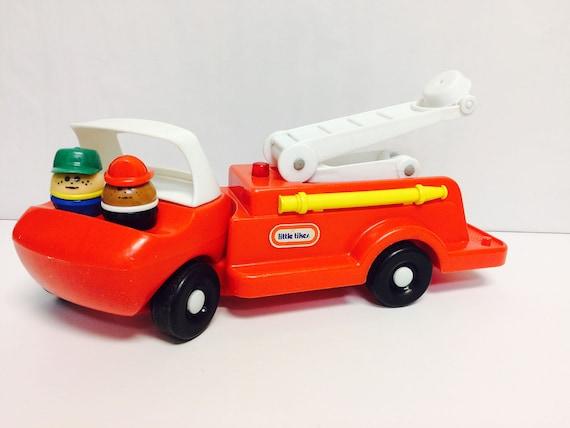 Vintage Little Tikes Fire Truck Toddle Tots Truck Vintage