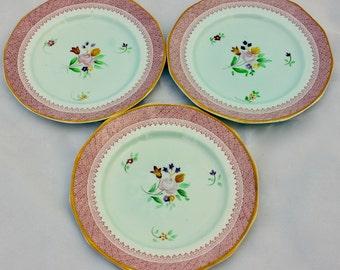 Vintage Adams Calyx Ware Lowestoft Bread Plate/ English Ironstone