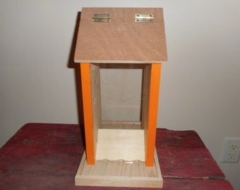 Bird feeder-Large bird feeder-Wooden bird feeder