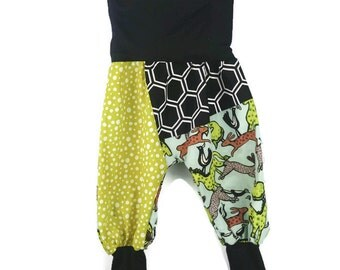 Adaptable pants for kidz - JEANS / RED