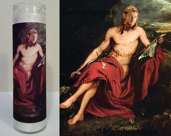 Thor Devotional Candle