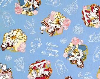 Disney Beauty and The Beast Fabric