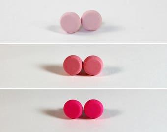 Clay Earrings - Pinks