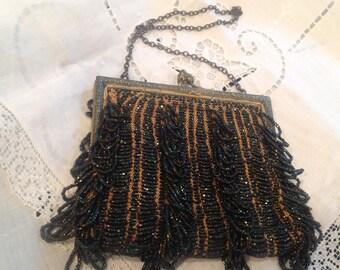 Antique beaded purse, circa 1920