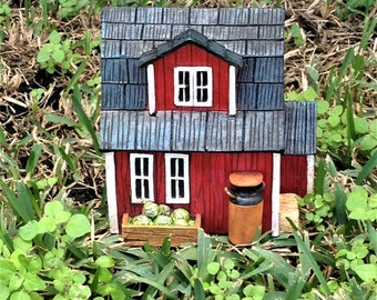Old Barn Fairy Garden Farm Miniature
