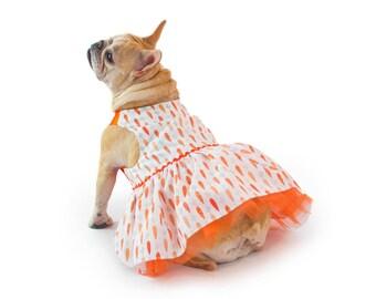 English Bulldog  - Clothing /14 Carrot Dress