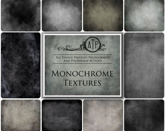 10 High Res Fine Art Digital MONOCHROME Textures / Overlays Set 1  BUY 3 Get 1 free Code ATPbuy3get1free