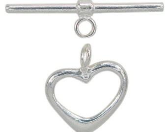 11mm Sterling Silver .925 Toggle Clasp