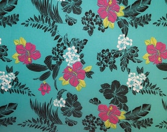 "Multicolor Floral Print #525 4 Way Stretch Swimwear Activewear Cosplay Nylon Spandex Lycra Craft Fabric 58""-60"" Wide By The Yard"
