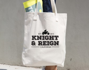 Knight and Reign Canvas Tote Bag Cotton