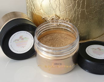 Gold Dust (Non Toxic, just for decorations) 100 grams jar.