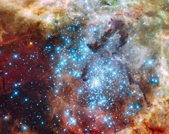Star Clusters, Hubble Telescope, Space Photo