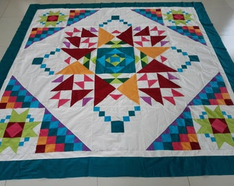 Machine Pieced Machine pieced  Quilt top