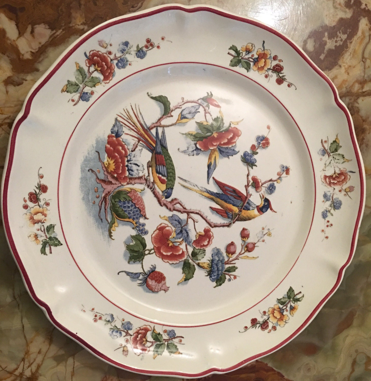 Villeroy Boch Made In Germany: Antique Villeroy & Boch Dinner Plate 10 Made In