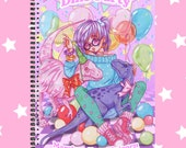 Sketchbook DinoParty fairykei and pastel colors