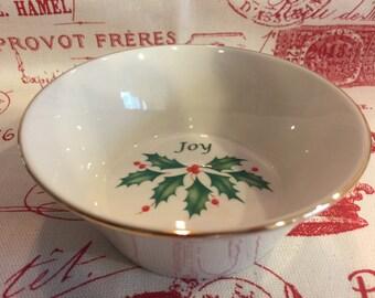 Lenox holly bowl   Etsy
