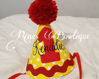 Elmo Inspired Party Hat