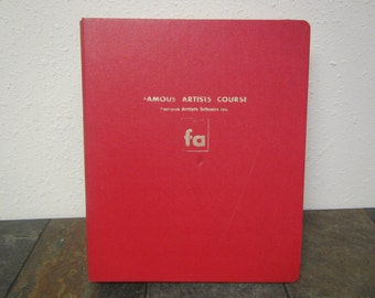 1960 FAMOUS ARTISTS COURSE Lessons 1 thru 8 ** Do it yourself course from Famous Artists Schools  Westport , Connecticut
