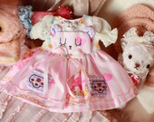 sweetteddy handmade dress for Neo blythe--blythe dress-MADE TO ORDER