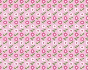 Riley Blake - Summer Song Daisy Pink - C4623-PINK