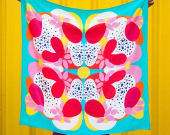 Large Square Silk Scarf