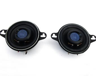 "Eclipse Fujitsu Ten 3.5"" SE8232 Coaxial Speakers 2-Way Car Speaker Vintage 1990s"