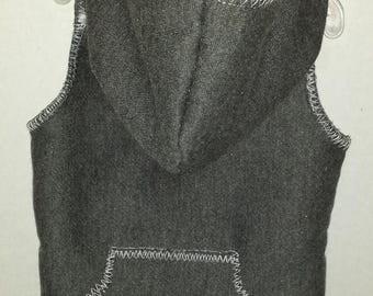 Gray Sweatshirt Hoodie