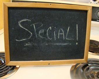 Vintage blackboard, chalk board, kitchen chalk board, message board
