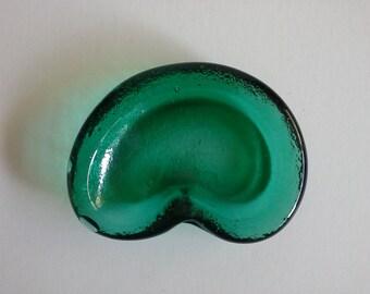Blenko Glass Ashtray.