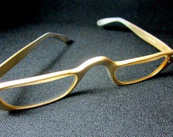 Liberty Eyeglasses Metal Aluminum Vintage Womens Glasses Readers USA
