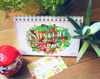 Calendrier perpétuel des fruits & légumes de saison