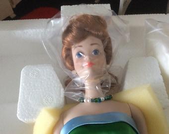 Porcelain Midge Doll New In Box
