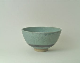 Ceramic bowl. bowl. Pottery bowl. blue/green pottery bowl. bowl with turquoise glaze. Hand made bowl. small serving bowl.pottery handmade