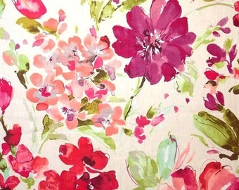sale ships same day paint palette orchid fabric bt p kaufmann paint palette orchid home decor fabric fuchia floral drapery fabric by  : day orchid decor