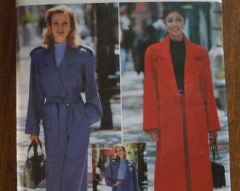 Butterick 4666, sizes 18-22, UNCUT sewing pattern, craft supplies, lined coat, double or single breasted, Pants, trousers