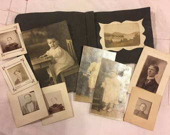 Antique photos of instant relatives