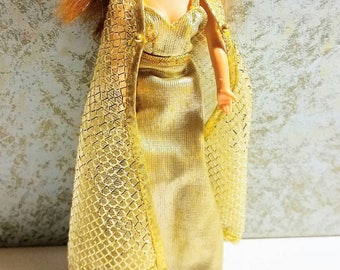 1970's Topper Dawn doll All That Glitters dress and cape