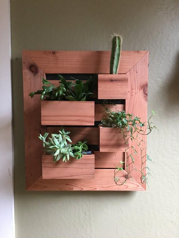 In Stock Modern Vertical Succulent Garden Indoors Or