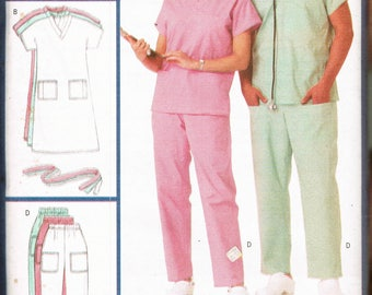 Nurse Uniform Sewing Pattern 31