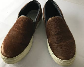 Celine Hide Vintage Loafers