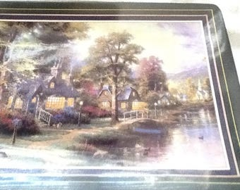 Thomas Kinkade plaque