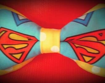 Superman bow tie, Mens bowtie
