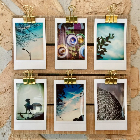 instant photo display instax mini display pallet square. Black Bedroom Furniture Sets. Home Design Ideas