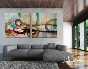Oversized Wall Art paintings large wall art abstract painting modern wall art