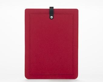 MacBook Air 13 Sleeve – MacBook Case – Macbook Air 13 Cover - MacBook Felt and Leather Case - Macbook Sleeve