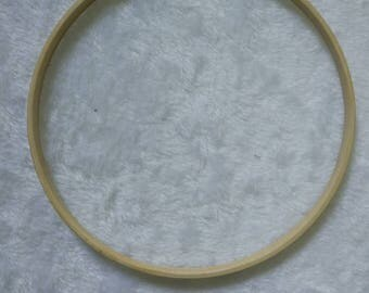 bamboo ring for baby mobile hanger, macrame and other craft projects. 20cm
