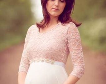 Malva Dress l Maternity Gown l Maternity Dress l Baby Shower